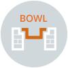 fire pit bowl pan shape illustration