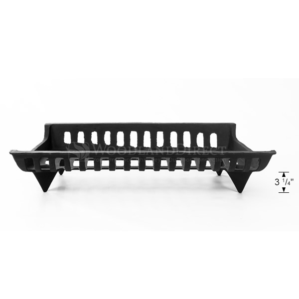 27 Cast Iron Fireplace Grate Woodlanddirect Com Fireplace Grates