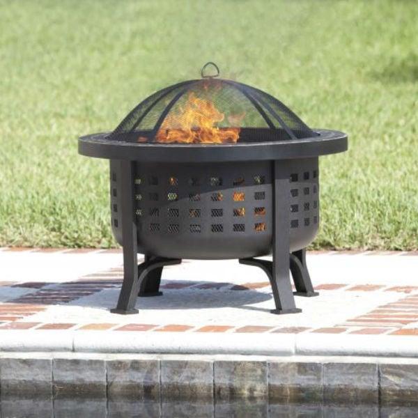Alpina Wood Burning Fire Pit