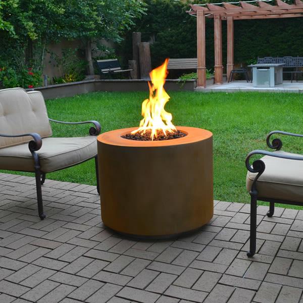 Beverly Corten Fire Pit The Outdoor Plus Woodlanddirectcom