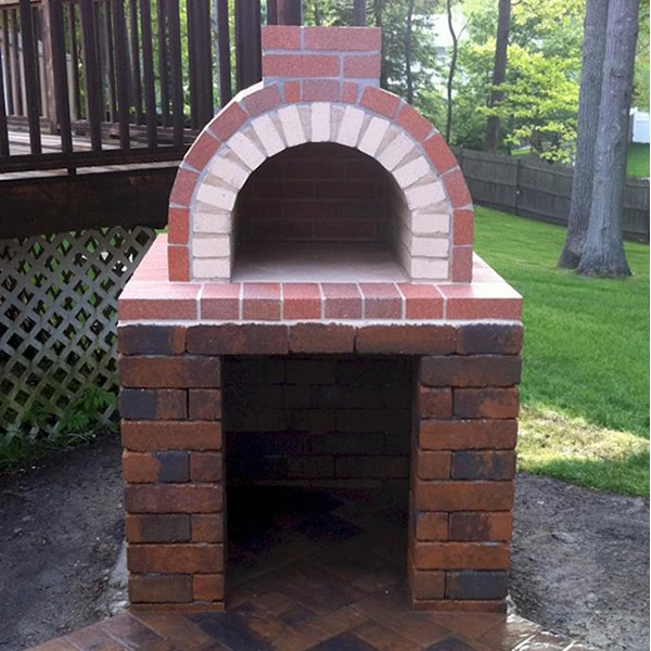 how to build a wood fired pizza oven youtube
