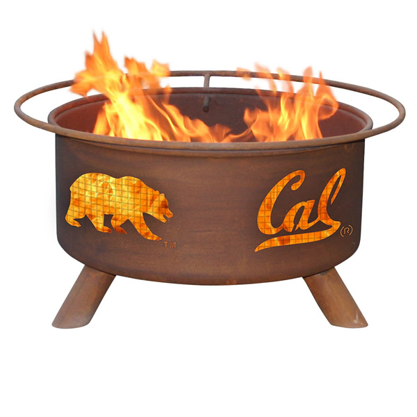 Cal Berkeley Fire Pit Woodlanddirect Com Outdoor Fireplaces