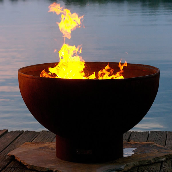 Eclipse Wood Burning Fire Pit | WoodlandDirect.com: Outdoor Fireplaces: Fire  Pits - Wood, Fire Pit Art - Eclipse Wood Burning Fire Pit WoodlandDirect.com: Outdoor