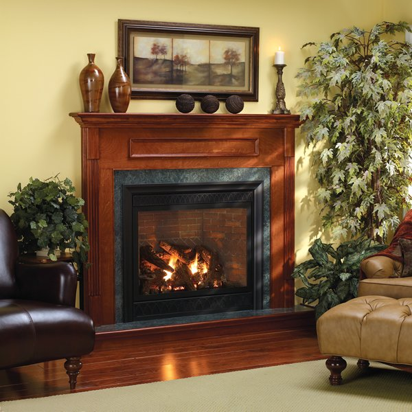 Empire Luxury Tahoe Traditional Direct Vent Fireplace 36