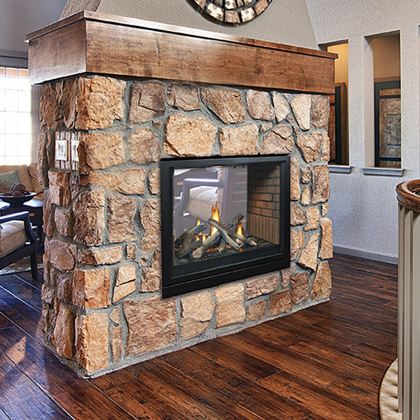 Empire Tahoe See Through Direct Vent Gas Fireplace 36