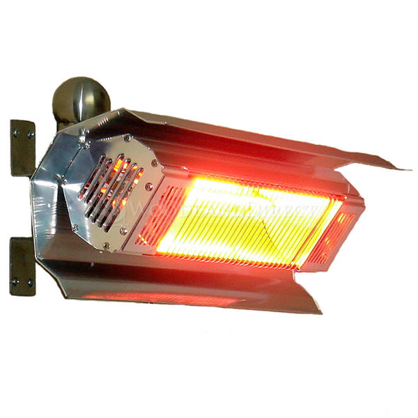 Fire Sense Wall Mounted Infrared Patio Heater | WoodlandDirect.com: Patio  Heaters