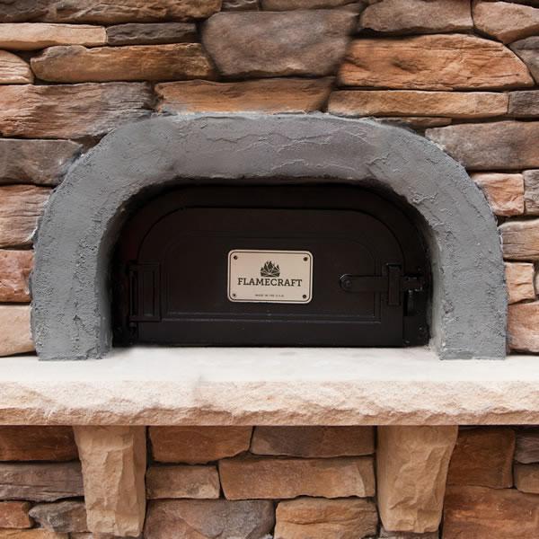 Flamecraft Wood Fire Pizza Oven Woodlanddirect Com Pizza Ovens
