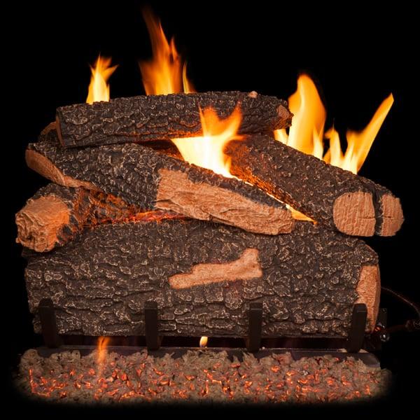 Golden Blount Big Tex Vented Gas Log Set Woodlanddirect Com