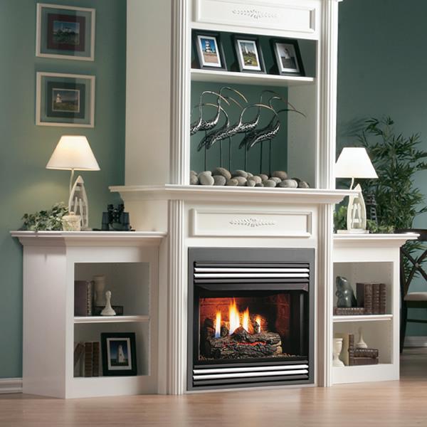 ... Kingsman ZVF33 Vent Free Zero Clearance Gas Fireplace   33