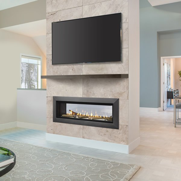 Majestic Echelon See Through Direct Vent Gas Fireplace 36