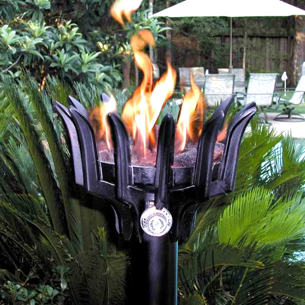 Malumai Gas Tiki Torch Fire By Design Woodlanddirect Com