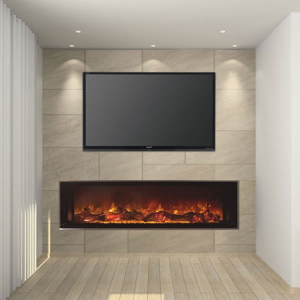 Modern Flames Landscape Fullview Series Linear Electric Fireplace