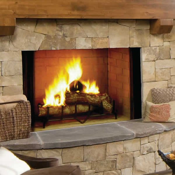 Majestic Biltmore Wood Burning Fireplace Woodlanddirect