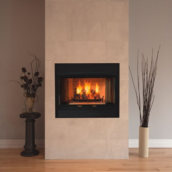 Majestic Sovereign Heat Circulating Wood Burning Fireplace