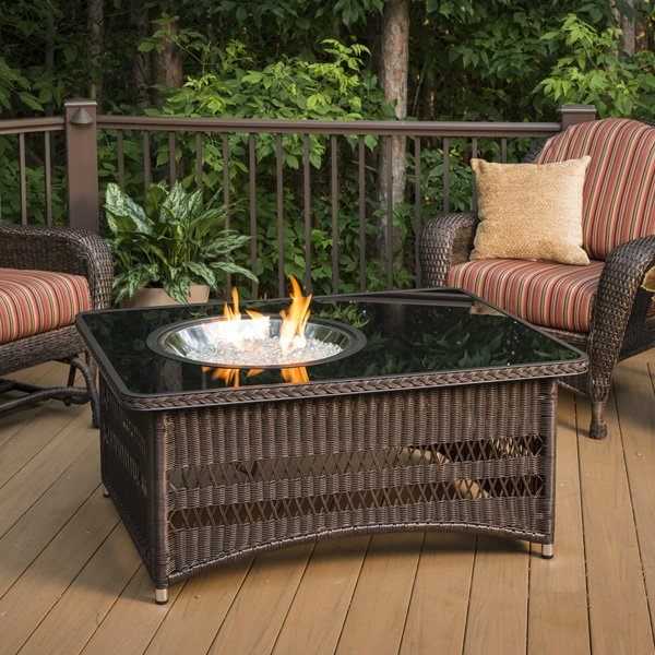 Naples Gas Fire Pit Table The Outdoor