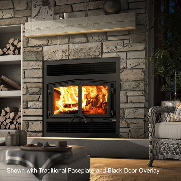 Osburn Stratford Ii Zero Clearance Wood Stove Fireplace
