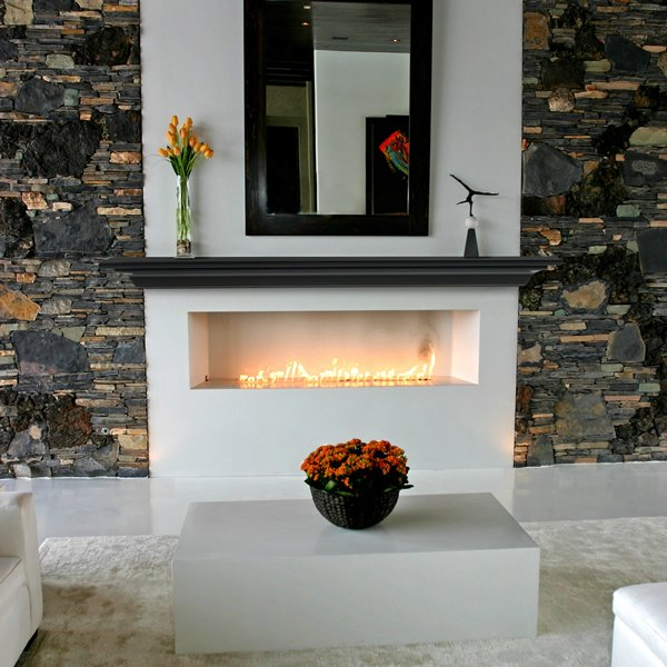 Pearl Crestwood Black Fireplace Mantel Shelf Pearl Mantels