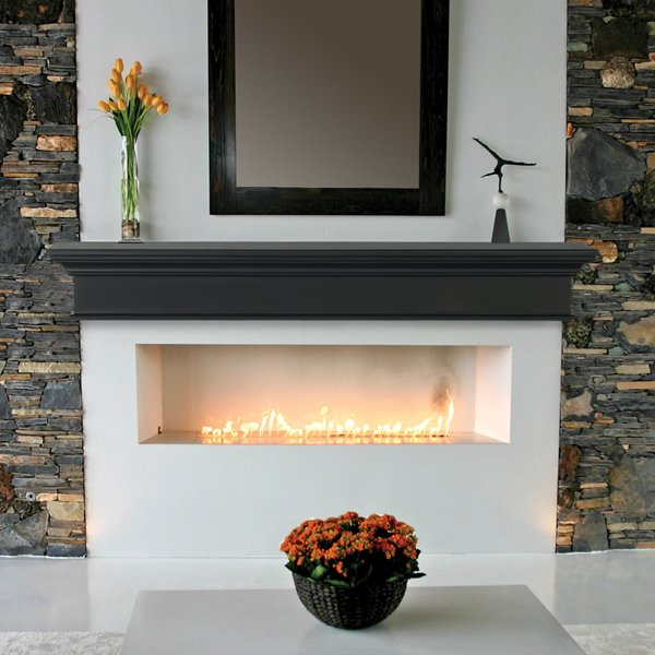 Pearl Henry Black Fireplace Mantel Shelf Pearl Mantels Woodlanddirect Com