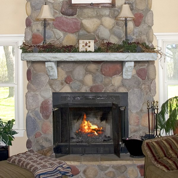 Pearl Natural Cast Stone Fireplace Mantel Shelf Mantels Woodlanddirect