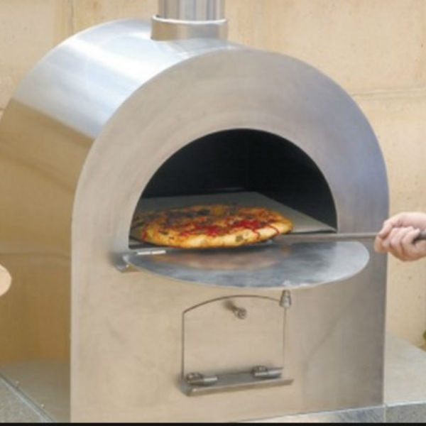 Pizza Pro Stainless Steel Wood Burning Pizza Oven Woodlanddirect
