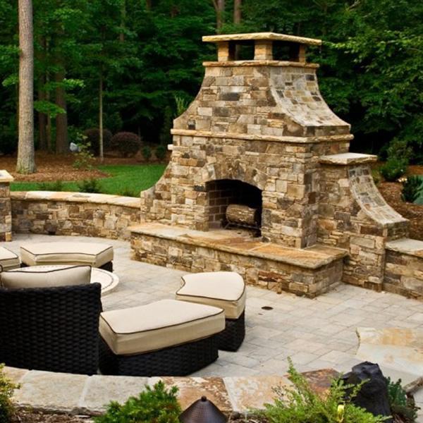 FireRock Outdoor Fireplace