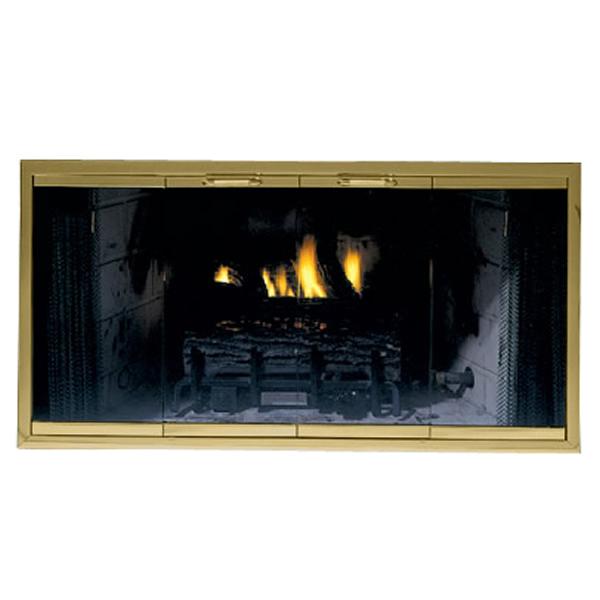 Rainbow Zero Clearance Fireplace Glass Door Woodlanddirect