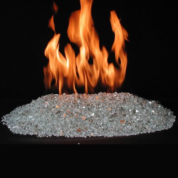 Rasmussen Alterna FireGlitter Vented Fire Glass Set - Propane - 18
