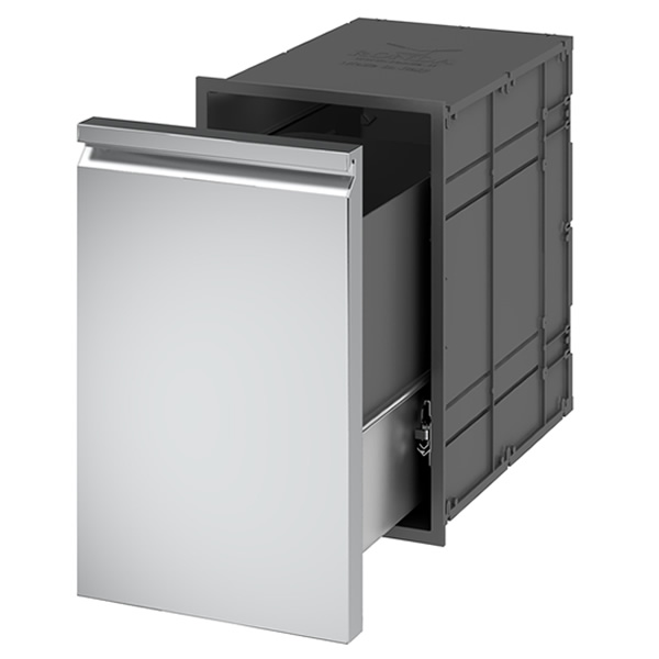 Ronda Pull Out Trash Drawer | WoodlandDirect.com: Grilling: Island  Components, Ronda Outdoors