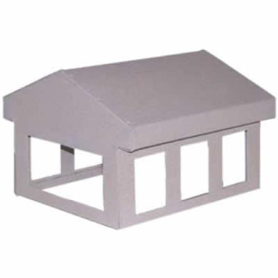 Six-Light House Custom Chimney Shroud (14) | WoodlandDirect