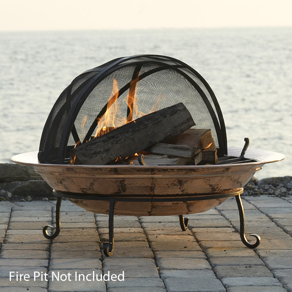 Spark Screen For Extra Large Fire Pit