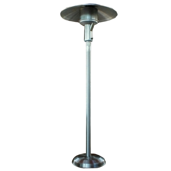 Sunglo Natural Gas Portable Patio Heater - Stainless Steel - Sunglo Natural Gas Portable Patio Heater - Stainless Steel