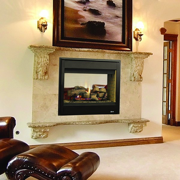 Superior Drt35st Direct Vent See Through Gas Fireplace Superior Products Woodlanddirect Com