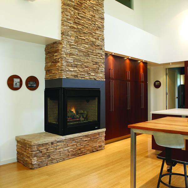 Superior Drt40cr L Direct Vent Corner Gas Fireplace Superior
