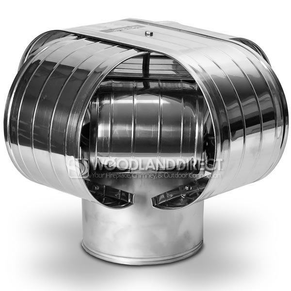 Vacu-Stack Stainless Steel Chimney Cap for Solid Pack Chimney Pipe